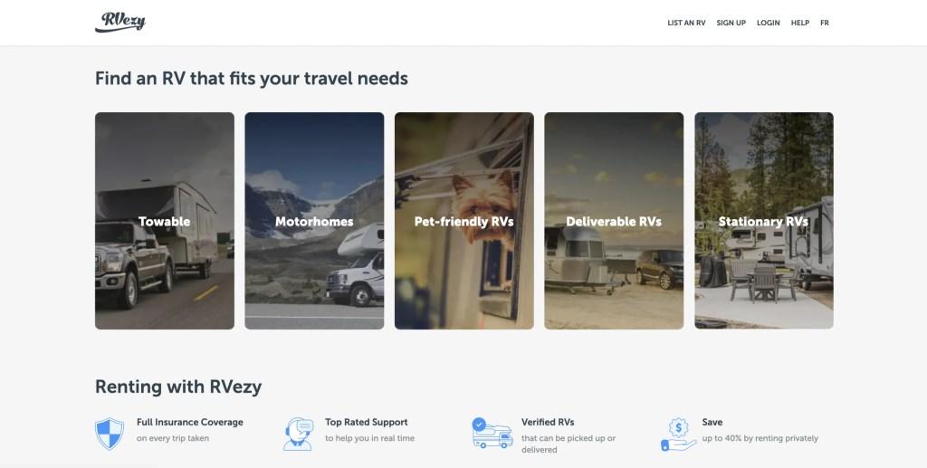 RVezy Screenshot The Adventure Travelers