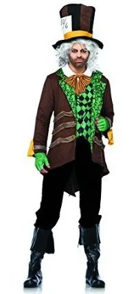 Classic Mad Hatter Mens Halloween Costume