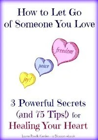 she blossoms ebook how to let go of someone you love