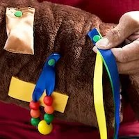 TwiddleCat Therapy Aid Gift for Dementia Patients