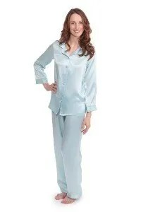 silk pajamas - 50th birthday gift for your wife