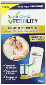 home sperm test for male fertility