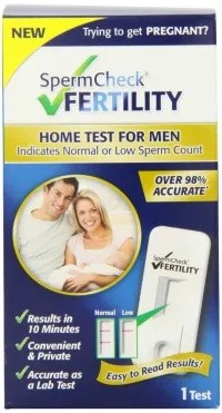 how to recover sperm count male fertility