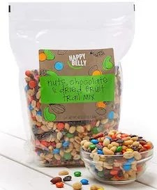 Nuts, Chocolate & Dried Fruit Trail Mix for Regular Periods