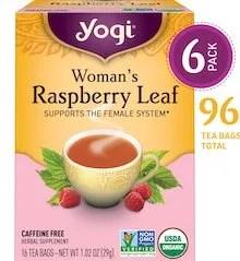 Yogi Raspberry Leaf Tea Supports the Female System