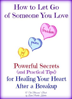 Tips to let go of someone you love