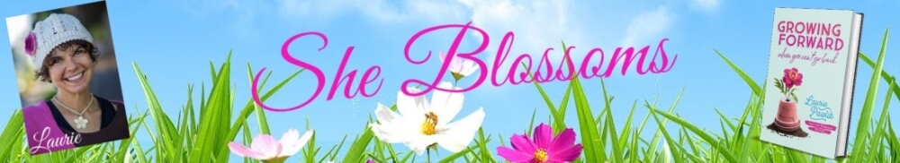 she blossoms laurie pawlik kienlen blossom tips blogger