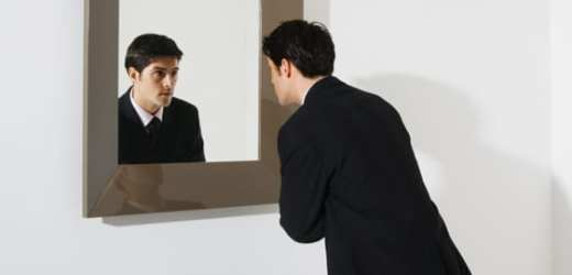 Image result for looking in a mirror