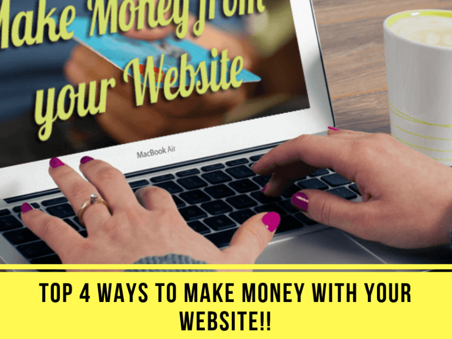 post40 - Top 4 Ways to Make Money with Your Website