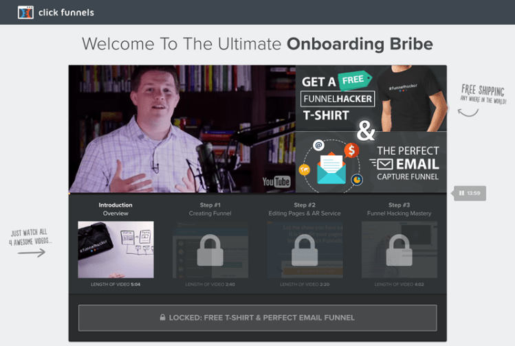 Onboarding - ClickFunnels Review