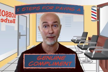 Kraig Robson Talking about Paying a Genuine Compliment
