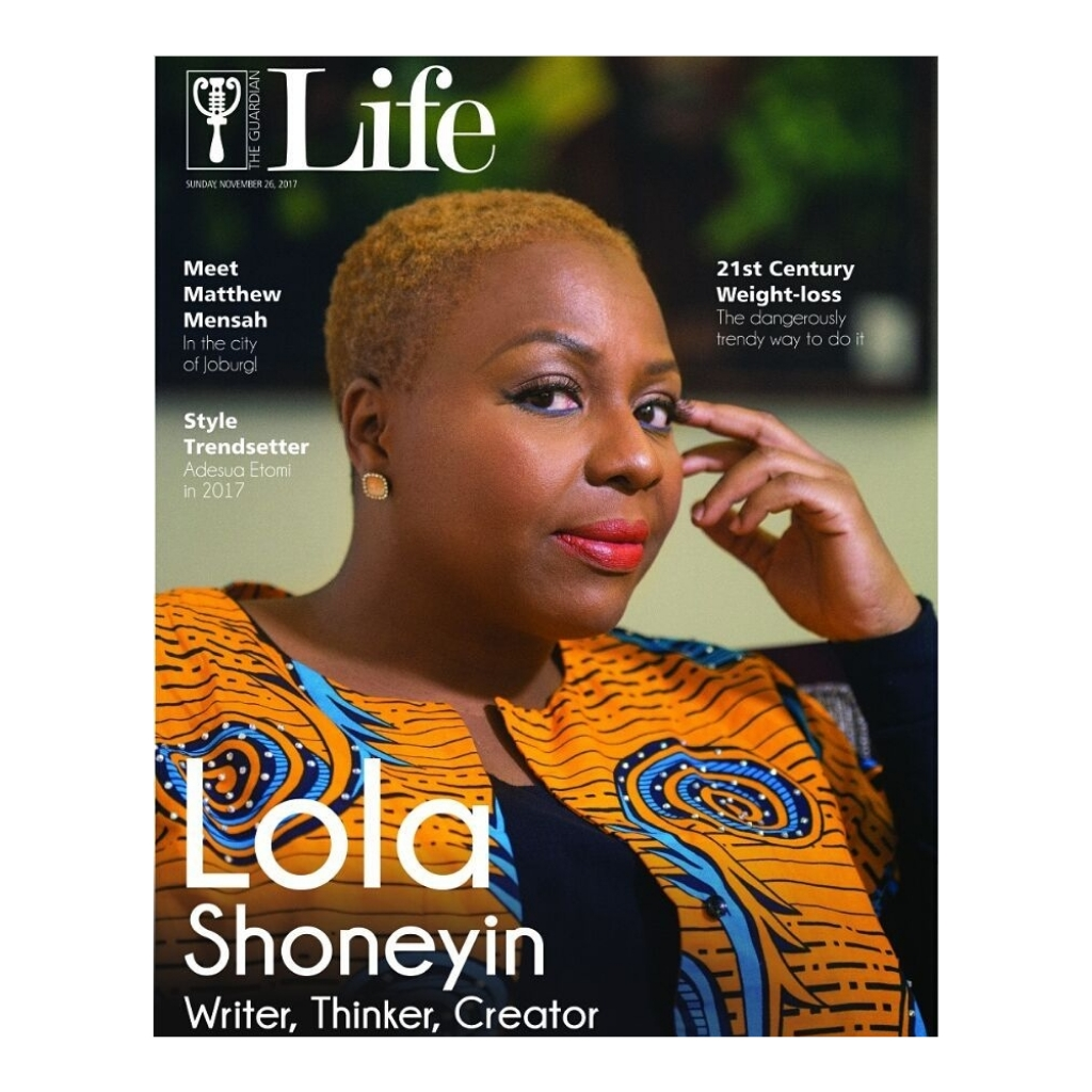Lola Shoneyin Graces The Cover of GuardianLifeNg