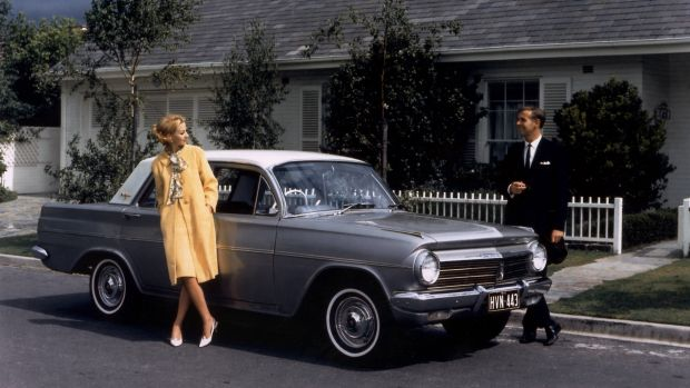 Holden's EH sedan in the 1960s was a less-than-stellar platform for racing.