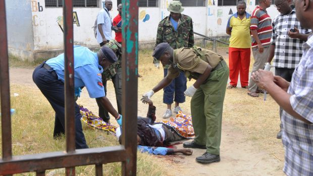 Assistant pastor George Karidhimba Muriki was gunned down at the Maximum Revival Ministries Church on Sunday by a suspected extremist group.