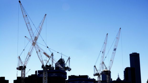 The RLB Crane Index shows apartment developments are still strong.