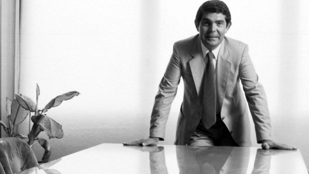 Prominent Australian political donor and furniture king Nick Scali, pictured in 1982.