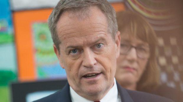 """Opposition Leader Bill Shorten has seized on development: """"My message to Malcolm Turnbull and his Liberals is 'hands off ..."""