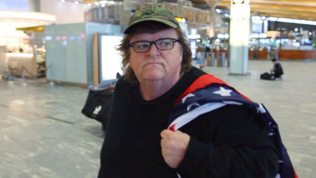 Michael Moore in his 2015 documentary <i> Where To Invade Next.</i>