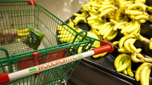 Woolworths said total group sales were up 4.4 per cent to $13.8 billion in the 13 weeks to April 2.