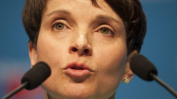 Head of the Alternative for Germany, or AfD, Frauke Petry.