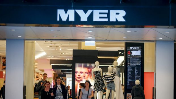 The defection comes just days before Myer's autumn-winter collection launch.