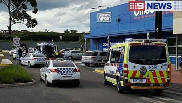 The scene of Monday's fatal shooting in Campbellfield.