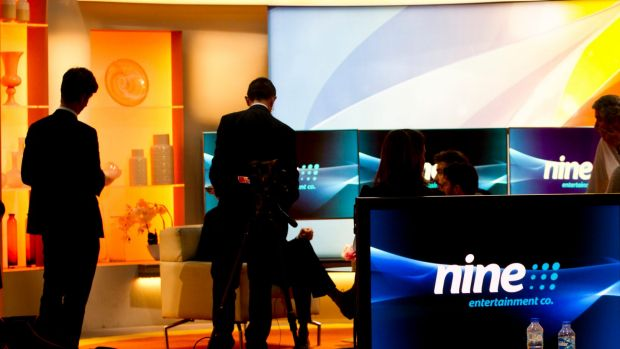 Shares in media stocks including Nine Entertainment climbed on amid speculation media ownership laws will be relaxed on ...