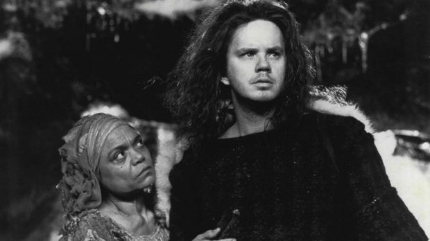 Early work: Earth Kitt and Tim Robbins star in the 1989 film Erik The Viking.