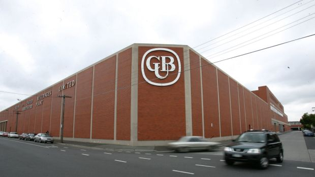 CUB's brewery site in Abbotsford.