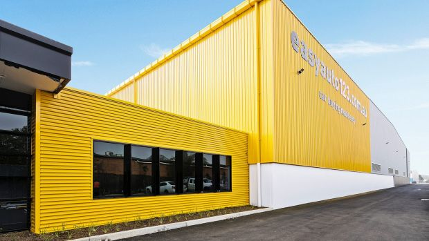 GPT's Seven Hills facility in Sydney has warehouse and office space.
