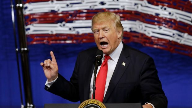 US President Donald Trump has both played down and embraced the significance of the 100-day period.