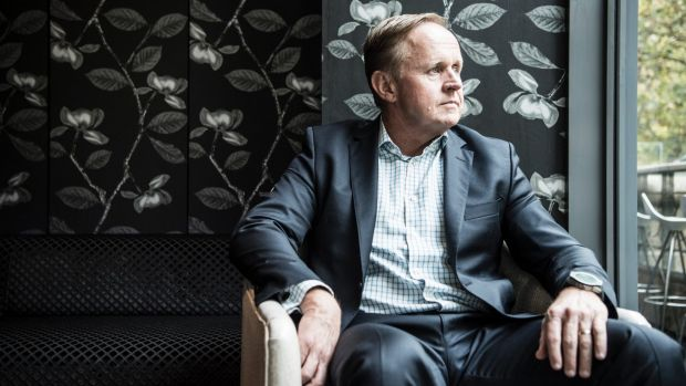 Vocus chief executive Geoff Horth has had to downgrade investors' expectations.