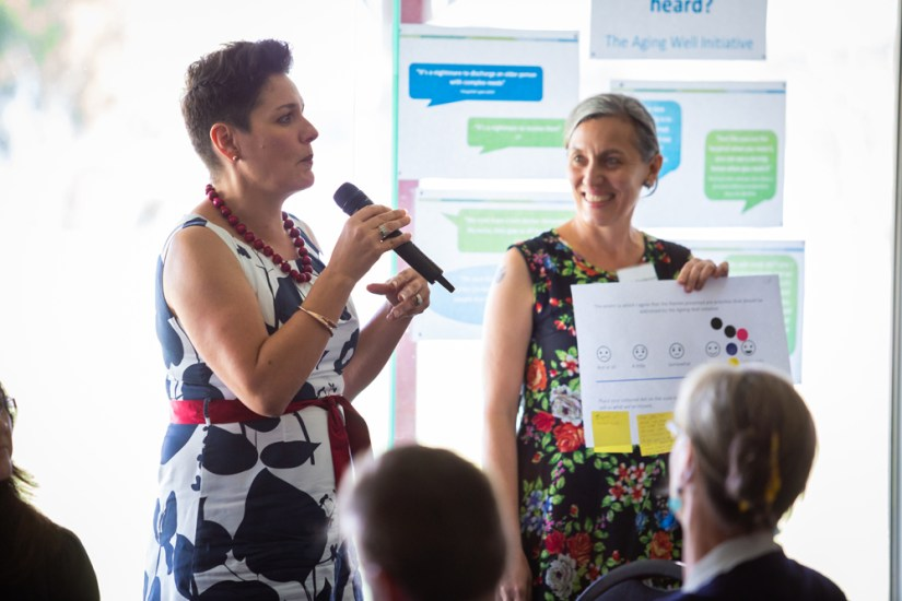 Co-designing health services with older people