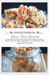 Grain free granola recipe with sustainable ingredients