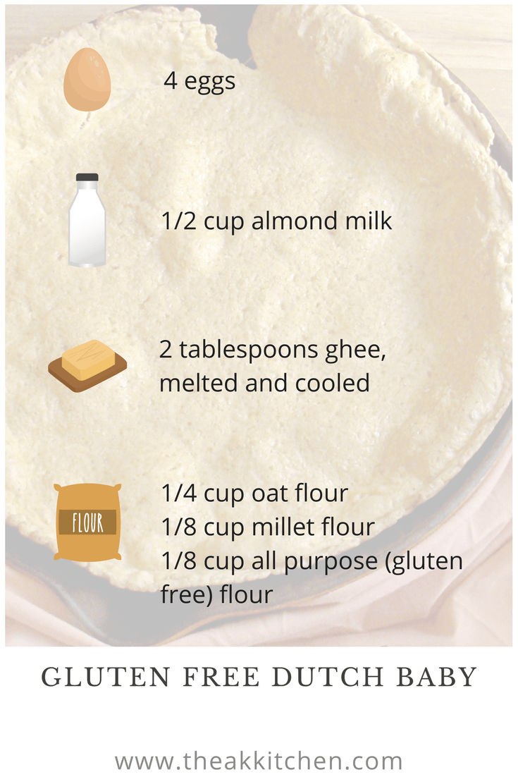 Dutch Baby recipe infographic pin