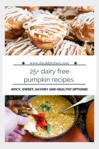 25+ dairy free pumpkin recipes