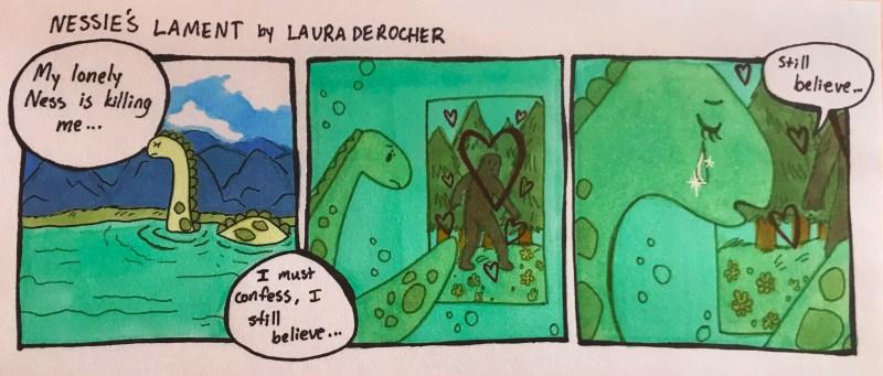 Nessie's Lament _ Laura Derocher