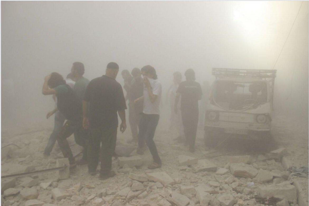 Eastern Aleppo. Photo by Ahmad Diab