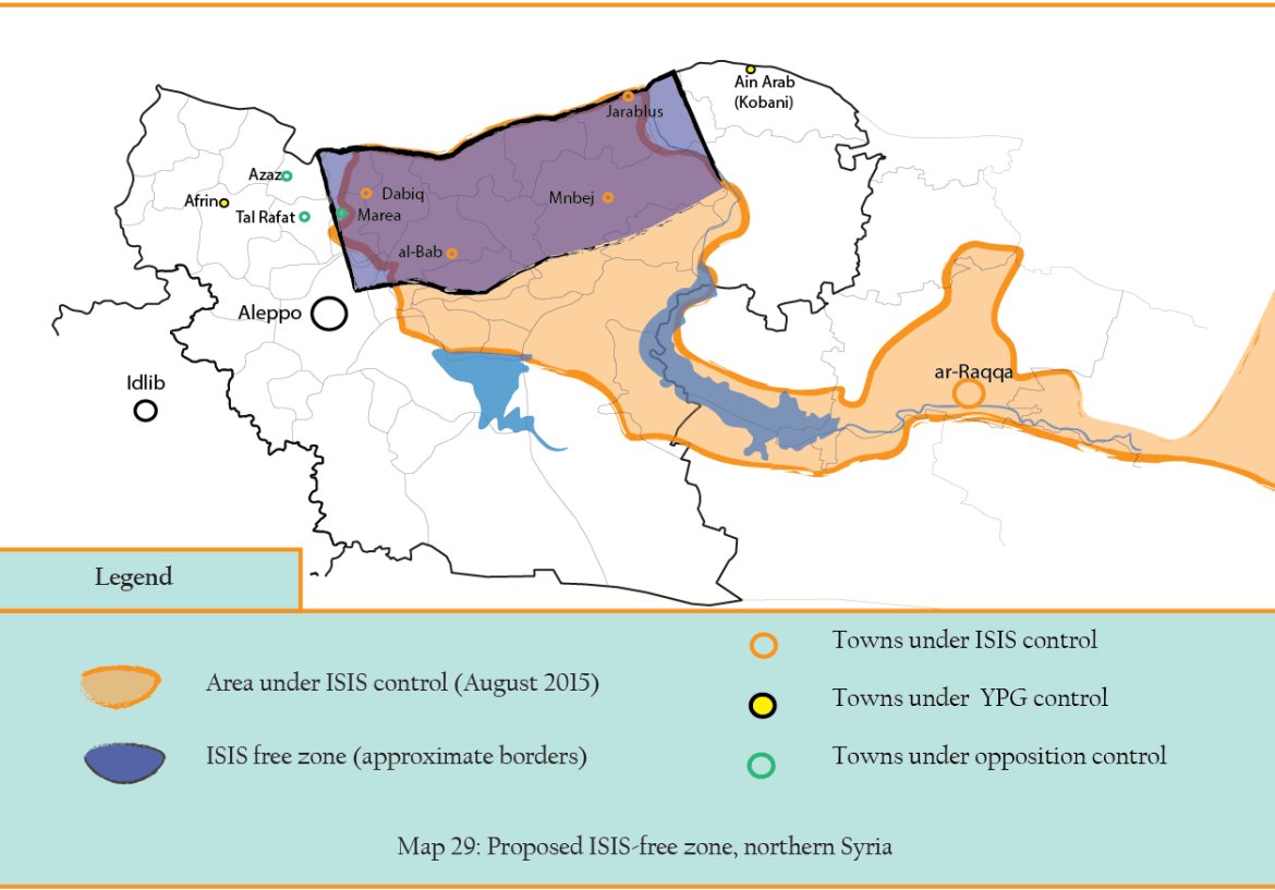 MAP 29 ISIS free zone