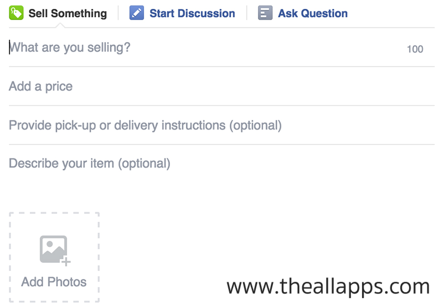 Facebook-groups-Sell-something