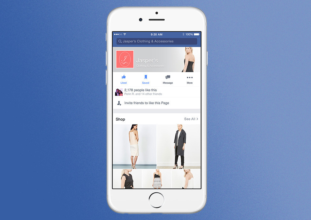 Facebook testing Buy button for Pages