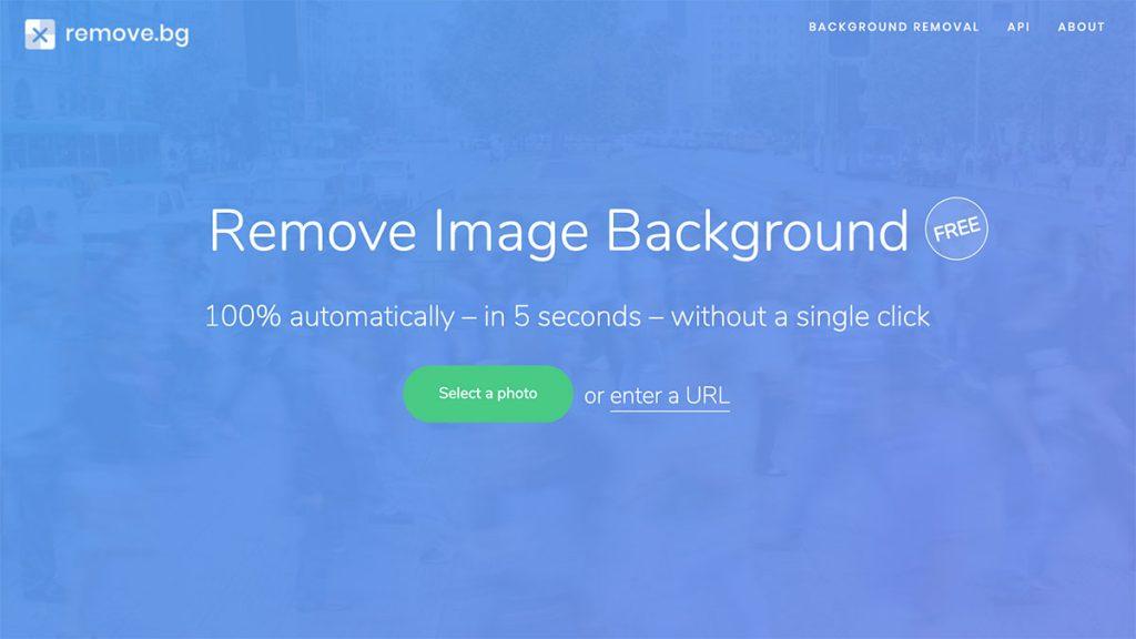 Remove.bg เว็บไซต์ลบฉากหลังออกได้ภายใน 5 วินาที