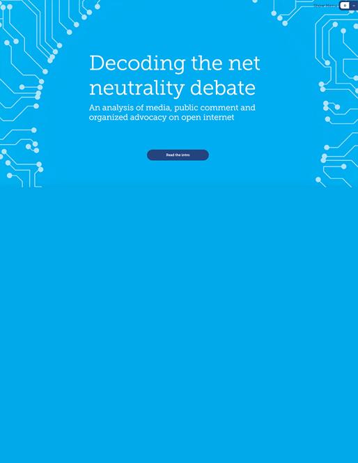 Knight Foundation: Net Neutrality Report