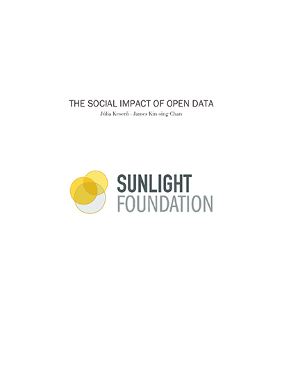 The Social Impact of Open Data