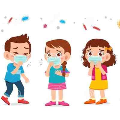 cute-kids-boy-girl-wearing-face-mask-vector-164556870 (2)