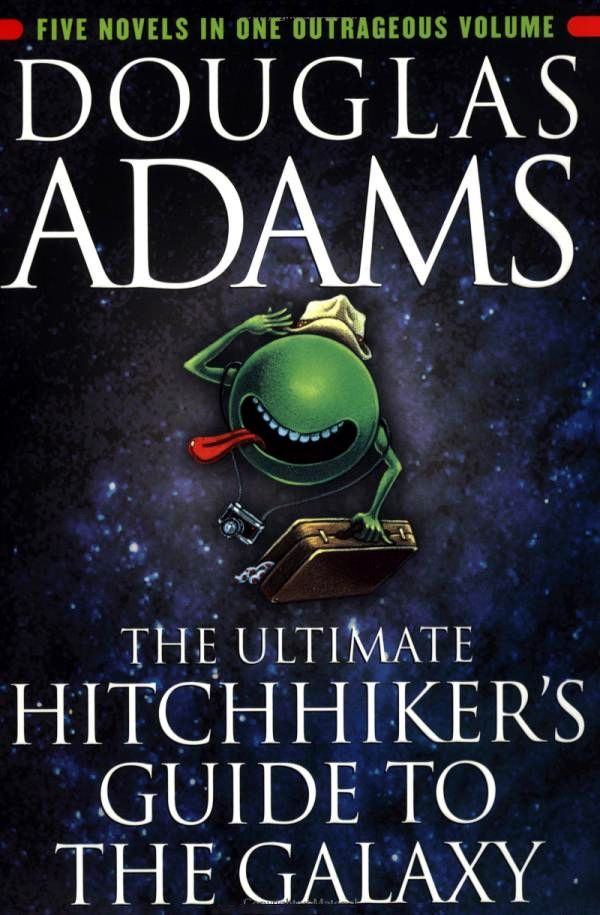 Books] The Ultimate Hitchhiker's Guide to the Galaxy – Douglas ...