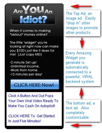 The Amazing Widget System *$15k Cash Prizes* By Bryan Winters  Image of widgetdiagram