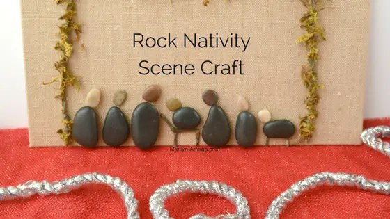 Rock Nativity Scene Craft