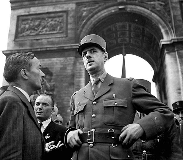 Image result for De Gaulle 1945