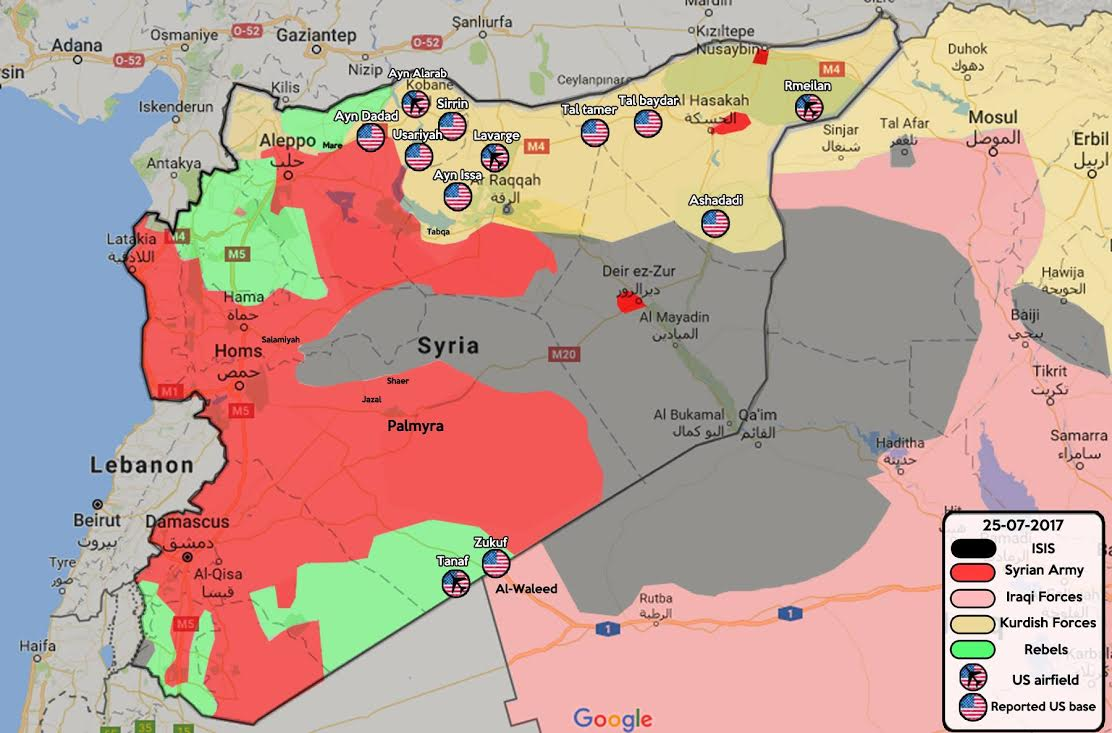 Image result for us military bases in syria